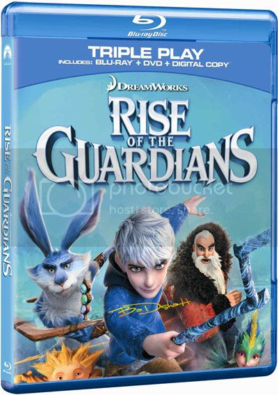 Rise of the Guardians (2012) BluRay 720p AC3 x264-CHD